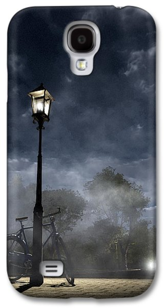 Creepy Galaxy S4 Cases - Ominous Avenue Galaxy S4 Case by Cynthia Decker