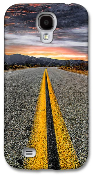 Mountain Road Galaxy S4 Cases - On Our Way  Galaxy S4 Case by Ryan Weddle