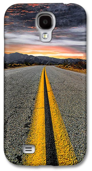 Road Travel Galaxy S4 Cases - On Our Way  Galaxy S4 Case by Ryan Weddle