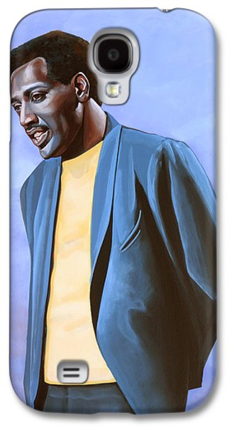 The Kings Paintings Galaxy S4 Cases - Otis Redding Galaxy S4 Case by Paul  Meijering