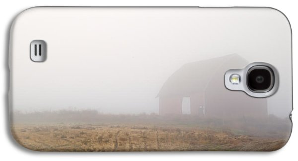 Red Barns Galaxy S4 Cases - Out of the Fog Galaxy S4 Case by Mike  Dawson