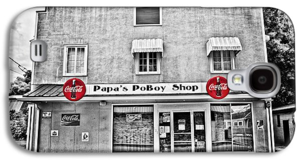 Pellegrin Photographs Galaxy S4 Cases - Papas PoBoy Shop Galaxy S4 Case by Scott Pellegrin