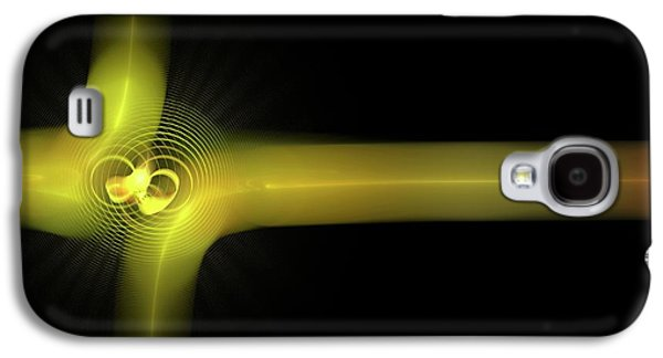 Particle Collision Galaxy S4 Case by Equinox Graphics