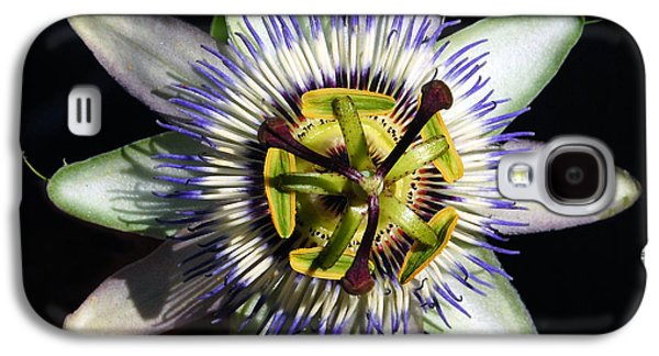 Passion Flower  Galaxy S4 Case by Debra Thompson