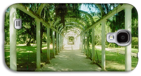 Garden Scene Galaxy S4 Cases - Pathway In A Botanical Garden, Jardim Galaxy S4 Case by Panoramic Images