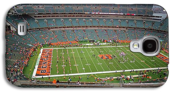 Wide Receiver Galaxy S4 Cases - Paul Brown Stadium Galaxy S4 Case by Dan Sproul