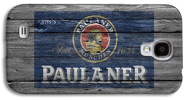 Breweries Galaxy S4 Cases - Paulaner Galaxy S4 Case by Joe Hamilton