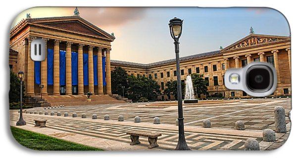 Phillies Art Galaxy S4 Cases - Philadelphia Museum of Art Galaxy S4 Case by Olivier Le Queinec