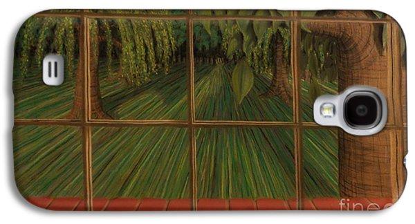 Window Pastels Galaxy S4 Cases - Picture Window Galaxy S4 Case by John Sekela