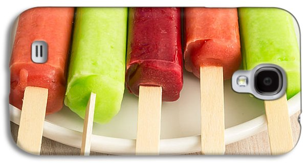 Snack Bar Galaxy S4 Cases - Popsicles Ice Cream Frozen Treat Galaxy S4 Case by Edward Fielding