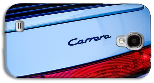 Transportation Photographs Galaxy S4 Cases - Porsche Carrera Taillight Emblem Galaxy S4 Case by Jill Reger