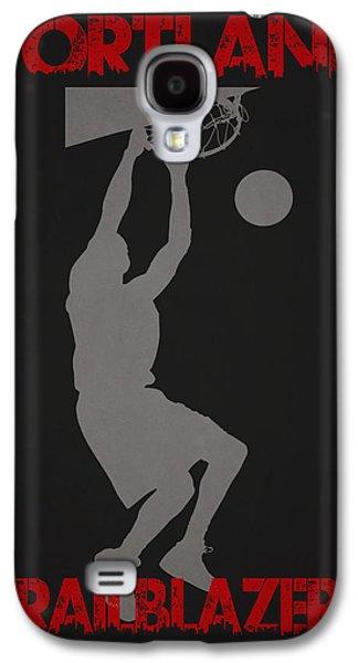 Nba Championship Galaxy S4 Cases - Portland Trailblazers Galaxy S4 Case by Joe Hamilton