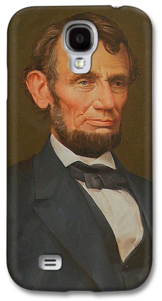 Republican Mixed Media Galaxy S4 Cases - President Abraham Lincoln  Galaxy S4 Case by Unknown
