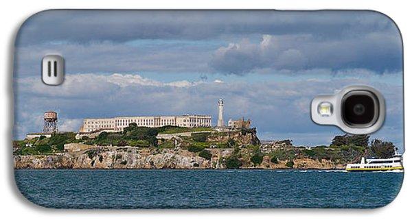 Alcatraz Photographs Galaxy S4 Cases - Prison On An Island, Alcatraz Island Galaxy S4 Case by Panoramic Images