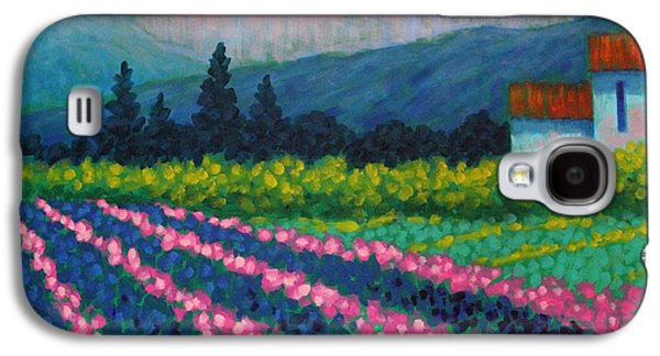 Landscape Acrylic Prints Paintings Galaxy S4 Cases - Provence Galaxy S4 Case by John  Nolan