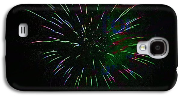 Pyrotechnics Galaxy S4 Cases - Psychedelic Fireworks Galaxy S4 Case by John Stephens