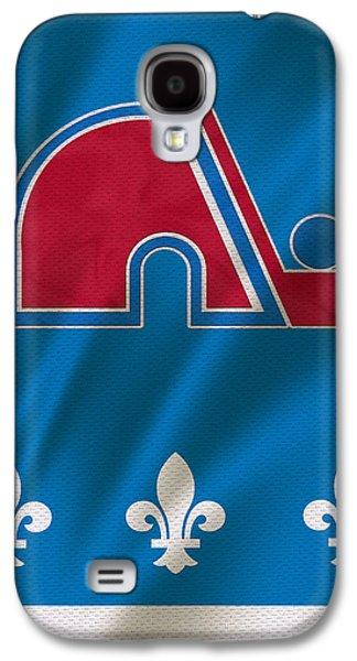 Quebec Galaxy S4 Cases - Quebec Nordiques Galaxy S4 Case by Joe Hamilton
