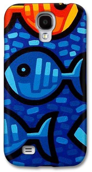 Green Galaxy S4 Cases - Rebel Fish II Galaxy S4 Case by John  Nolan