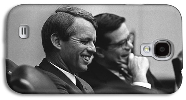 Ted Sorensen Galaxy S4 Cases - Robert Kennedy Galaxy S4 Case by War Is Hell Store