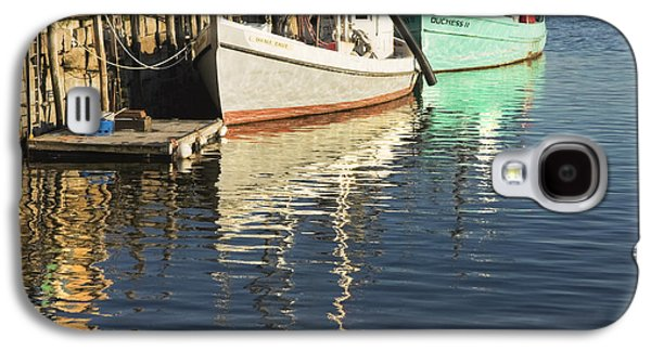 Maine Shore Galaxy S4 Cases - Rockland Maine Fishing Boats and Harbor Galaxy S4 Case by Keith Webber Jr