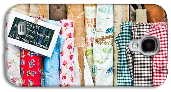 Designers Choice Photographs Galaxy S4 Cases - Rolls of fabric  Galaxy S4 Case by Tom Gowanlock