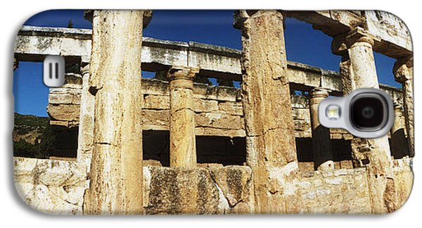 Ruins Of The Roman Town Of Hierapolis Galaxy S4 Case by Panoramic Images