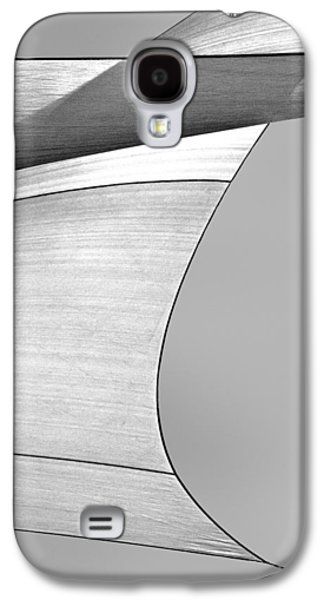 Modern Abstract Galaxy S4 Cases - Sailcloth Abstract Number 4 Galaxy S4 Case by Bob Orsillo