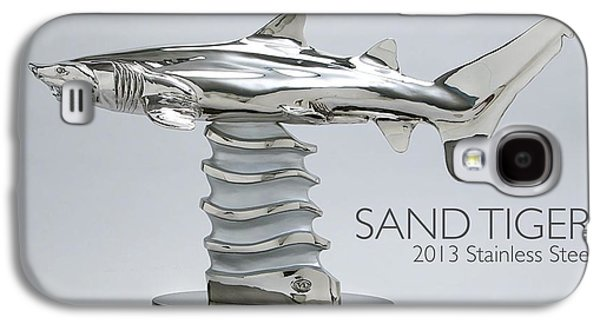 Sharks Sculptures Galaxy S4 Cases - Sand Tiger Shark Galaxy S4 Case by Victor Douieb