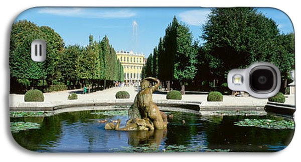 Garden Scene Galaxy S4 Cases - Schonbrunn Palace, Vienna, Austria Galaxy S4 Case by Panoramic Images