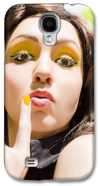 Secret Whispers Photographs Galaxy S4 Cases - Secret Galaxy S4 Case by Ryan Jorgensen