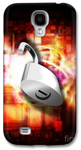 Component Photographs Galaxy S4 Cases - Security Technology, Conceptual Artwork Galaxy S4 Case by Victor Habbick Visions