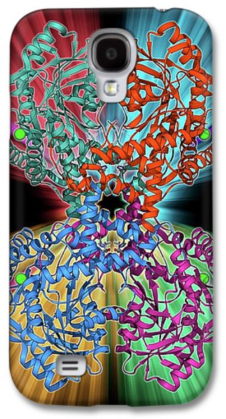 Selenocysteine Synthase Enzyme Molecule Galaxy S4 Case by Laguna Design