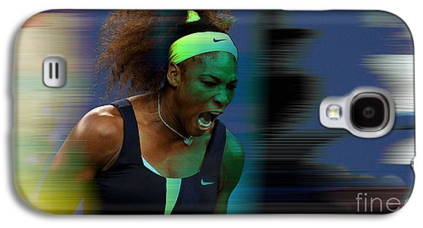 Serena Williams Galaxy S4 Case by Marvin Blaine