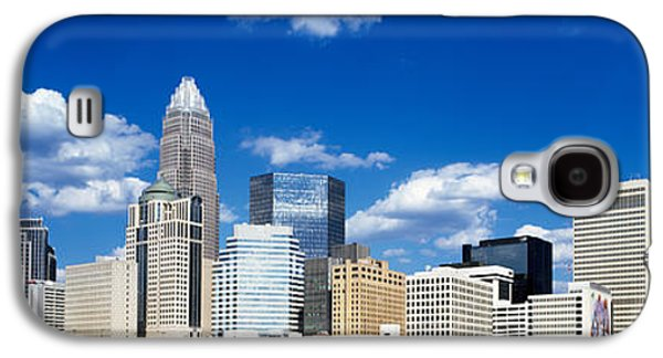 Charlotte Photographs Galaxy S4 Cases - Skyscrapers In A City, Charlotte Galaxy S4 Case by Panoramic Images