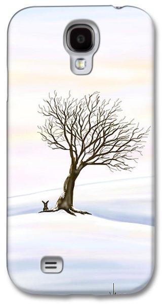 Digital Galaxy S4 Cases - Snow Galaxy S4 Case by Veronica Minozzi
