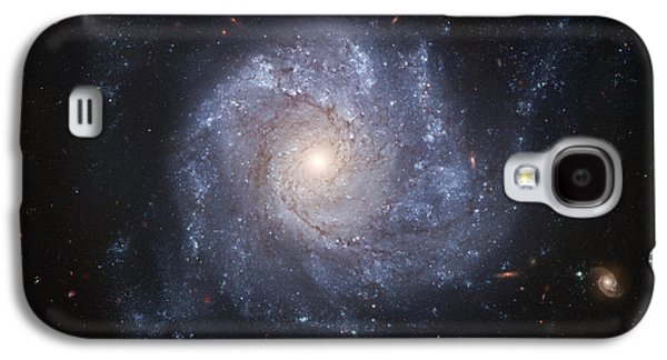 Galactic Paintings Galaxy S4 Cases - Spiral Galaxy Galaxy S4 Case by Nasa
