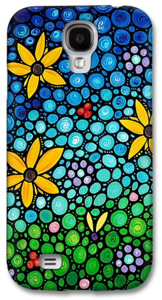 Floral Art Galaxy S4 Cases - Spring Maidens Galaxy S4 Case by Sharon Cummings
