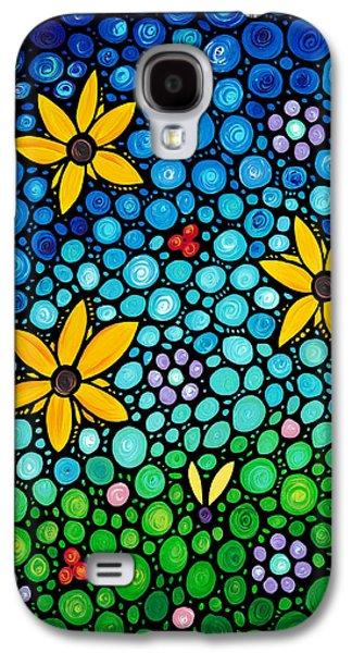 Garden Art Galaxy S4 Cases - Spring Maidens Galaxy S4 Case by Sharon Cummings