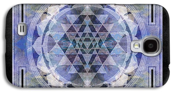 Sri Yantra  Galaxy S4 Case by Filippo B