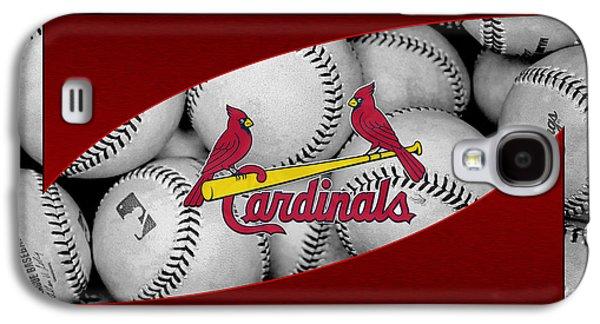 Foul Ball Galaxy S4 Cases - St Louis Cardinals Galaxy S4 Case by Joe Hamilton