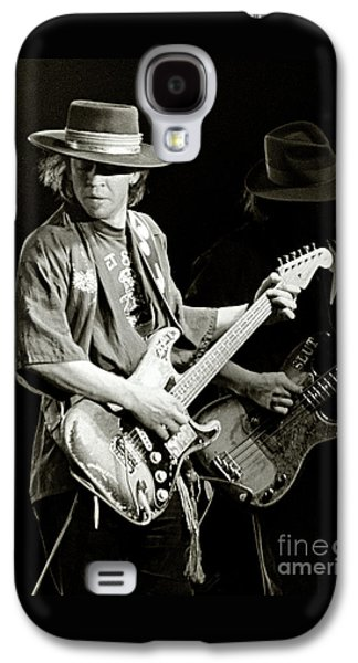 Stevie Ray Vaughan 1984 Galaxy S4 Case by Chuck Spang