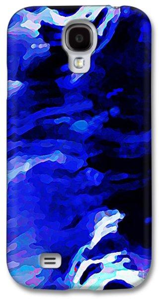 Storm Mixed Media Galaxy S4 Cases - Storm at Sea Galaxy S4 Case by Sarah Loft