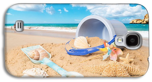 Concept Photographs Galaxy S4 Cases - Summer Beach Galaxy S4 Case by Amanda And Christopher Elwell