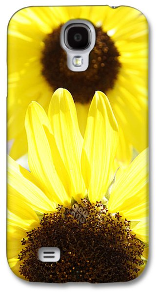 Sunflower Garden Galaxy S4 Cases - Sunflowers Galaxy S4 Case by Les Cunliffe