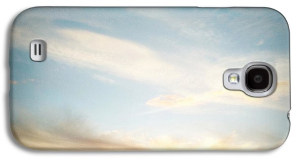 Sunset Abstract Galaxy S4 Cases - Sunset Galaxy S4 Case by Les Cunliffe