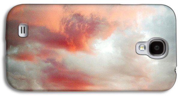 Nature Abstracts Galaxy S4 Cases - Sunset sky Galaxy S4 Case by Les Cunliffe