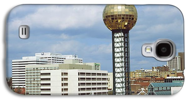 Tennessee Landmark Galaxy S4 Cases - Sunsphere In Worlds Fair Park Galaxy S4 Case by Panoramic Images