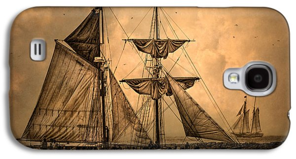 Historic Ship Galaxy S4 Cases - Tall Ships Galaxy S4 Case by Dale Kincaid