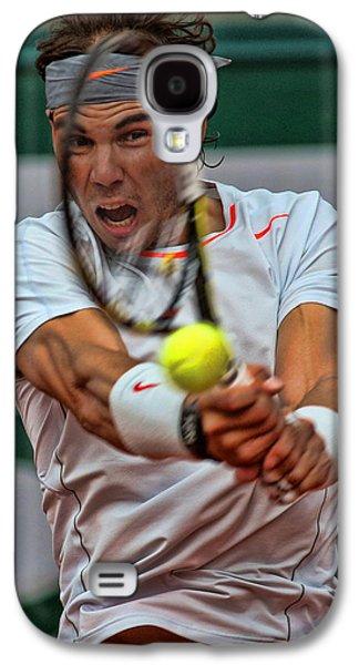 Tennis Star Rafael Nadal Galaxy S4 Case by Srdjan Petrovic