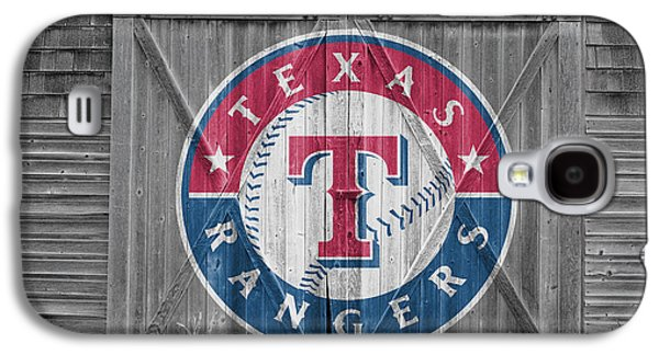 Barn Doors Galaxy S4 Cases - Texas Rangers Galaxy S4 Case by Joe Hamilton
